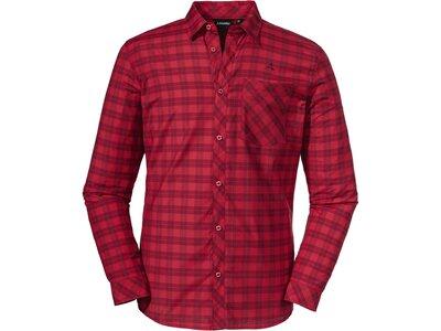 SCHÖFFEL Herren Hemd Shirt Colfosco M Rot