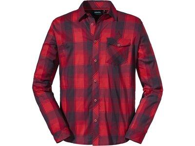 SCHÖFFEL Herren Hemd Shirt Duleda M Rot
