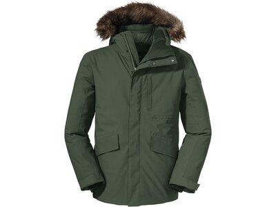 SCHÖFFEL Herren Funktionsjacke Down Jacket Budapest M Grau
