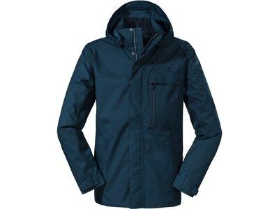 SCHÖFFEL Herren Jacke ZipIn! Jacket Imphal M Blau