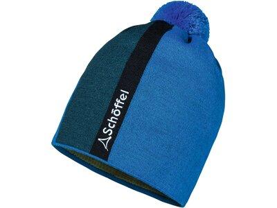 SCHÖFFEL Herren Knitted Hat Airolo Blau