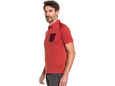 SCHÖFFEL Herren Shirt Polo Shirt Hocheck M Rot