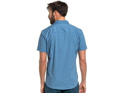 SCHÖFFEL Herren Hemd Shirt Willenhall M Blau