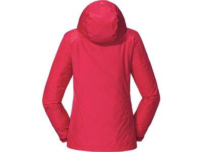 SCHÖFFEL Damen Jacke Vinschgau Rot