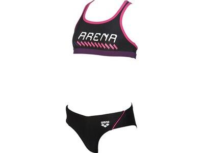 ARENA Mädchen Sport Bikini Sumo Schwarz