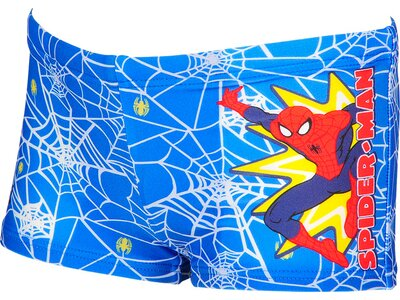 ARENA Jungen Spiderman Badehose Marvel Grau
