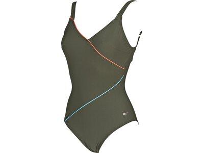 ARENA Damen Bodylift Badeanzug Tiffany B-Cup Grau