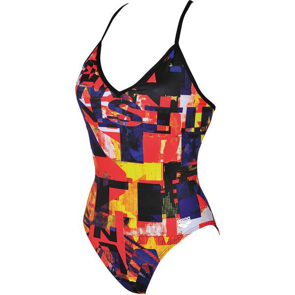 Bademode - ARENA Damen Trainings Badeanzug Instinct für Athletinnen › Grau  - Onlineshop Intersport