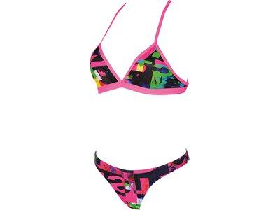 ARENA Damen Trainings Bikini Instinct für Athletinnen Grau