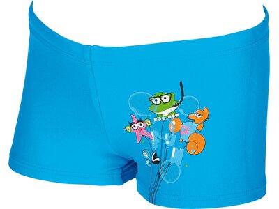 ARENA Jungen Sonnenschutz Badehose kurz Blau
