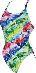 ARENA Damen Trainings Badeanzug Glitch für Athletinnen