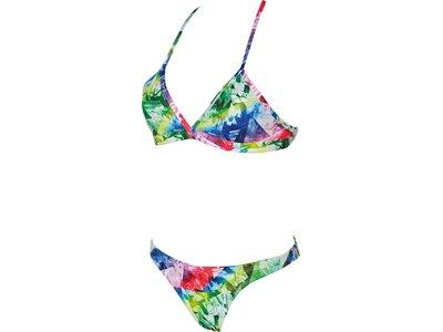ARENA Damen Trainings Bikini Glitch für Athletinnen Silber