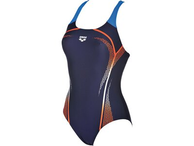 ARENA Damen Sport Badeanzug Modular Grau