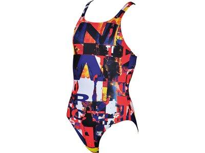 ARENA Mädchen Sport Badeanzug Instinct Grau