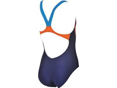 ARENA Mädchen Sport Badeanzug Modular Blau