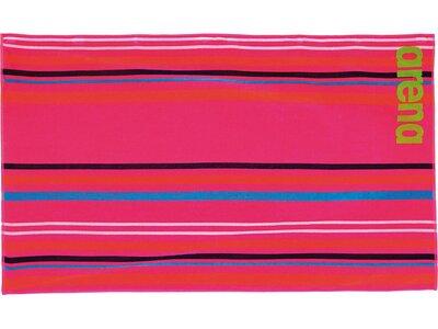 ARENA Baumwoll Handtuch groß Big Multistripes Rot