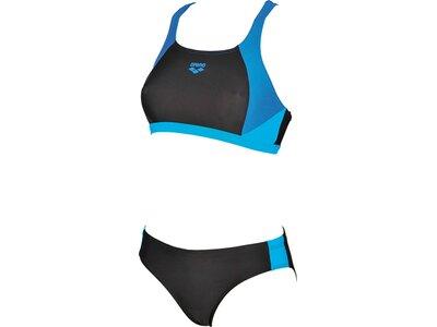 ARENA Damen Sport Bikini Ren Schwarz