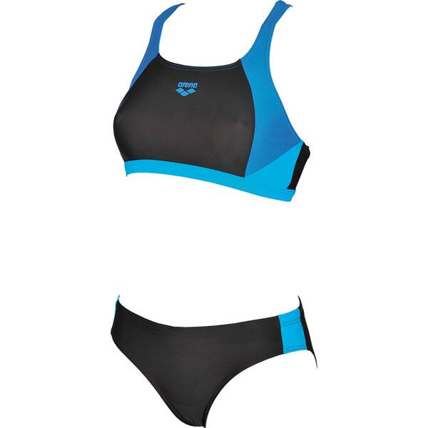Bademode - ARENA Damen Sport Bikini Ren › Schwarz  - Onlineshop Intersport