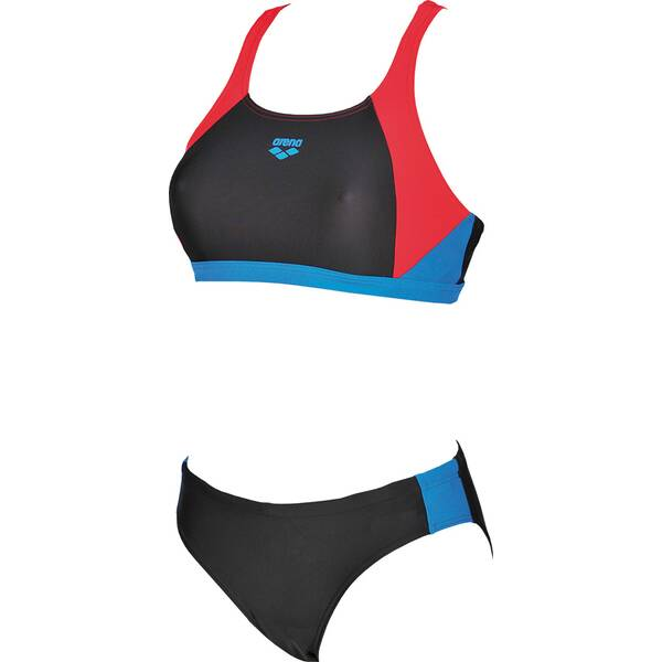 Bademode - ARENA Damen Sport Bikini Ren › Grau  - Onlineshop Intersport