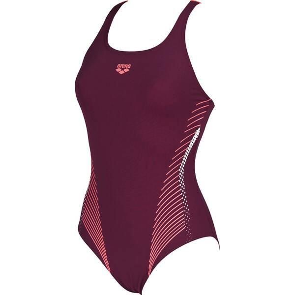 ARENA Damen Sport Badeanzug Fluids