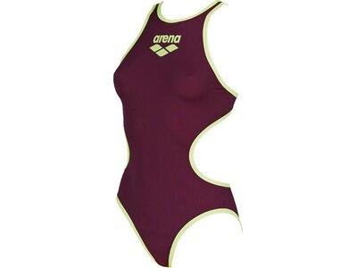 ARENA Damen Sport Badeanzug One Biglogo Rot