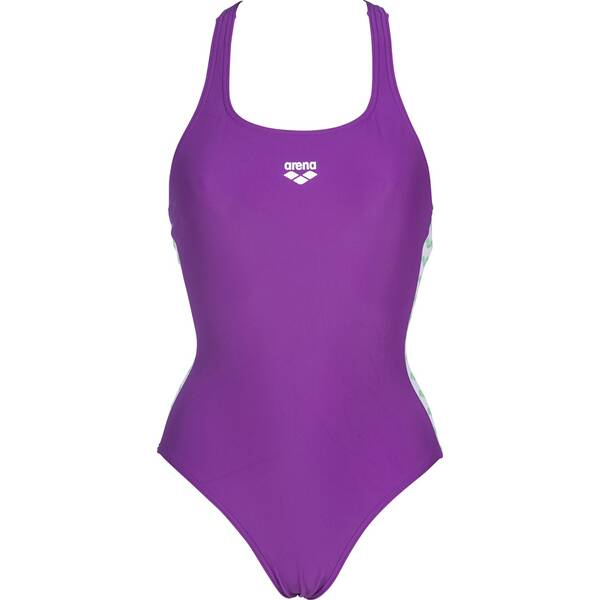 Bademode - ARENA Damen Sport Badeanzug Team Fit › Lila  - Onlineshop Intersport