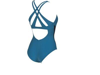 ARENA Damen Bodylift Badeanzug Maia B-Cup Blau