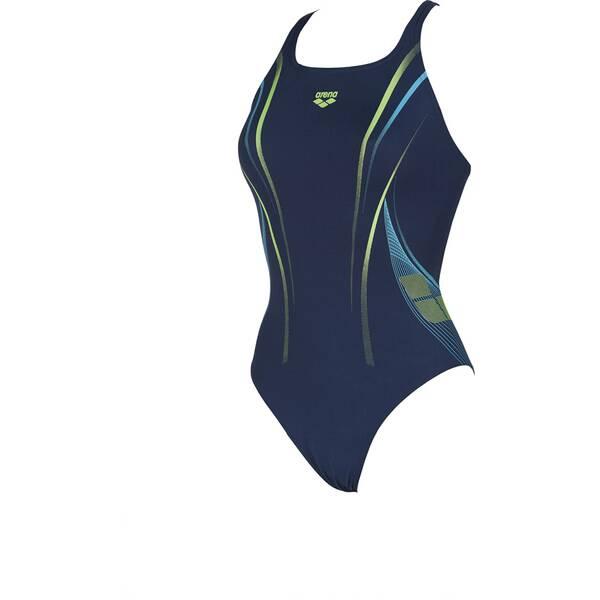 Bademode - ARENA Damen Sport Badeanzug One Poseidon › Blau  - Onlineshop Intersport
