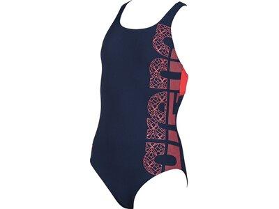 ARENA Mädchen Sport Badeanzug Equilibrium Blau