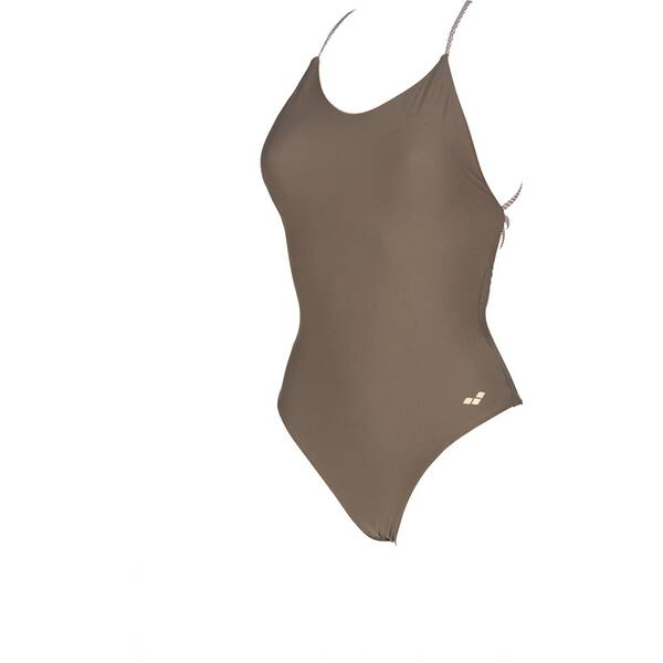 Bademode - ARENA Damen Badeanzug Twist Back › Braun  - Onlineshop Intersport