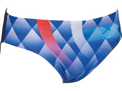 ARENA Herren Badehose Slip Bouncy Blau