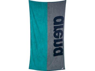 ARENA Baumwoll Handtuch Beach Soft Blau