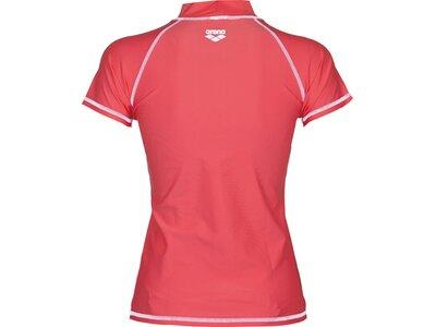 ARENA Damen Sonnenschutz Shirt Rot