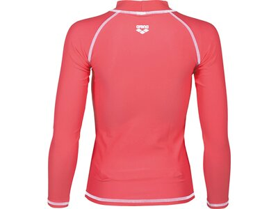 ARENA Mädchen Sonnenschutz Langarm Shirt Rot