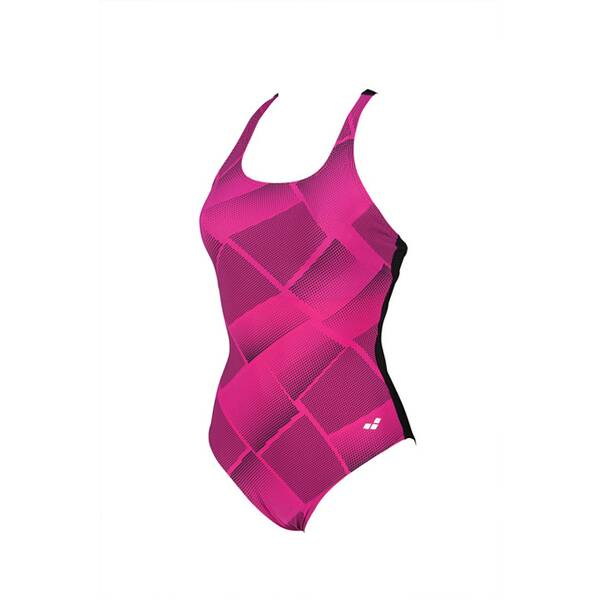 Bademode - ARENA Damen Bodylift Badeanzug Ada C Cup › Pink  - Onlineshop Intersport