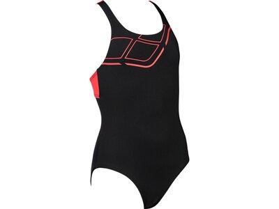 ARENA Mädchen Sport Badeanzug Essentials Schwarz