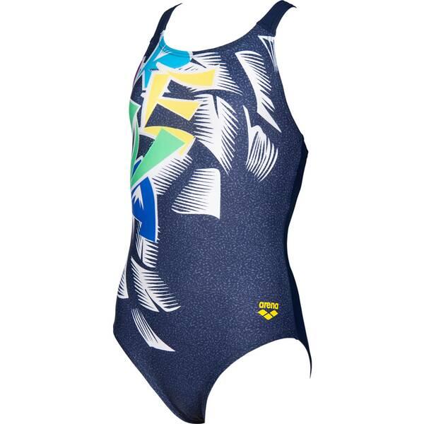 ARENA Kinder Schwimmanzug G FUNNY LETTERS V BACK