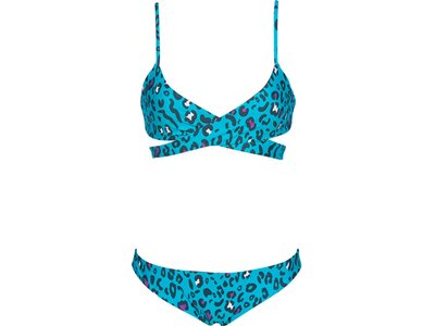 ARENA Damen Bikini TRIANGLE TWO PIECE REVERSIBLE Blau