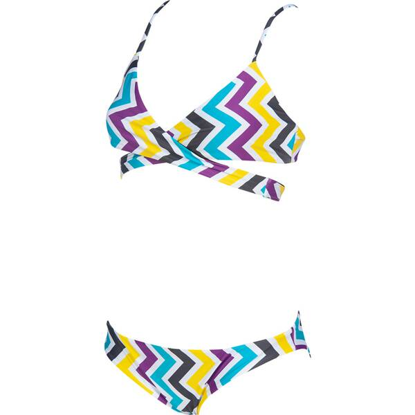 Bademode - ARENA Damen Bikini TRIANGLE TWO PIECE REVERSIBLE › Braun  - Onlineshop Intersport