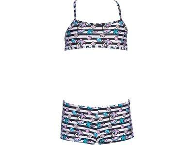 ARENA Kinder Bikini TROPICAL SUMMER Grau