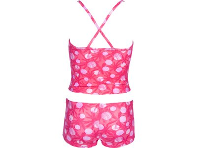 ARENA Kinder TROPICAL SUMMER TANKINI Pink