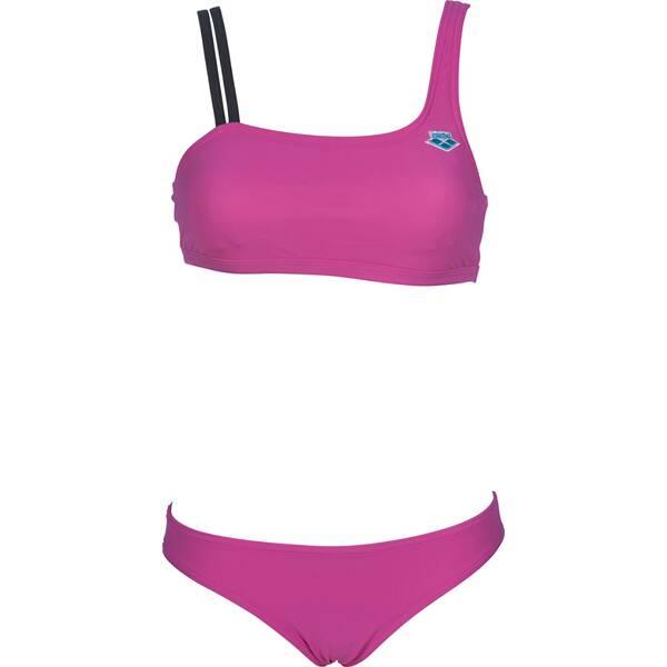 Bademode - ARENA Damen Bikini ICONS MONO › Lila  - Onlineshop Intersport