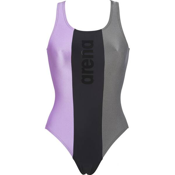 Bademode - ARENA Damen Sport Badeanzug Just › Grau  - Onlineshop Intersport
