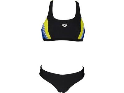 arena Damen Sport Bikini Threefold Schwarz