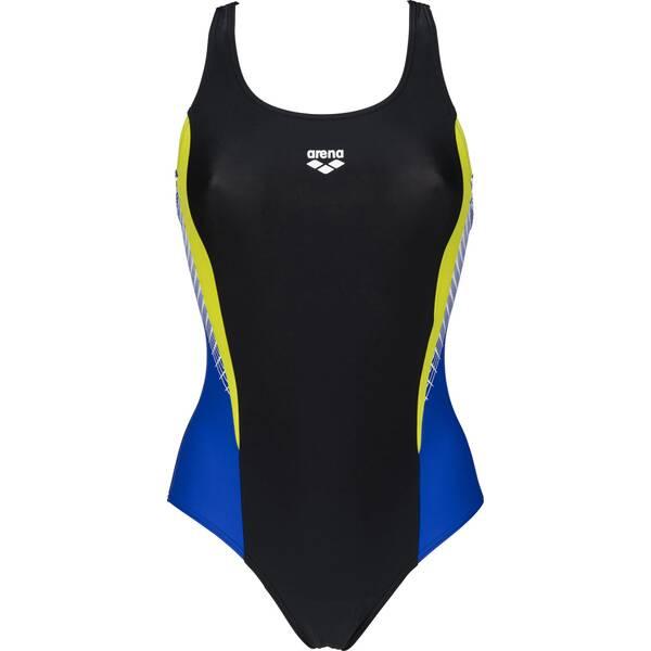 Bademode - ARENA Damen Sport Badeanzug Threefold › Schwarz  - Onlineshop Intersport