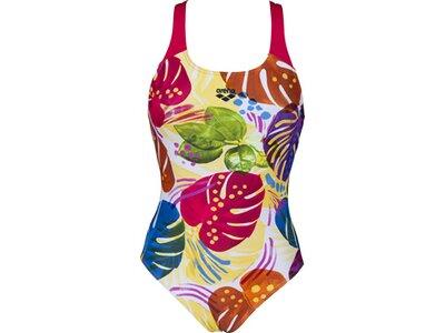 ARENA Damen Sport Badeanzug Tropics Braun