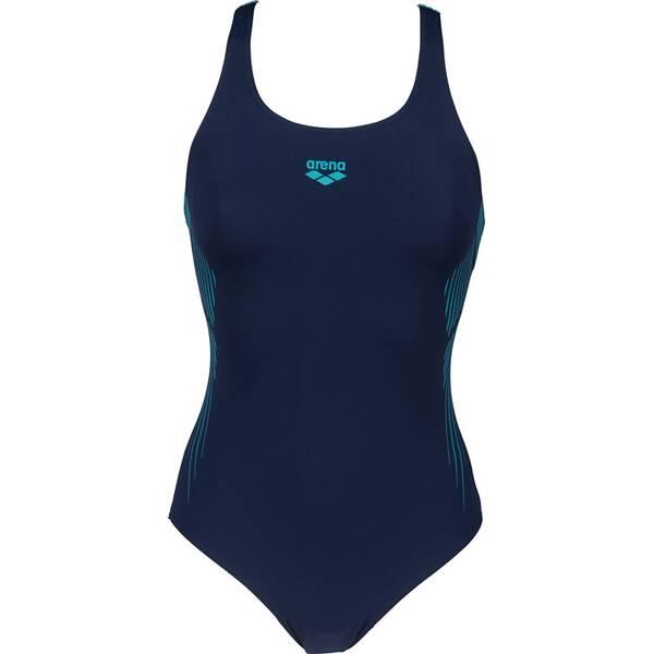 Bademode - ARENA Damen Schwimmanzug STREAK PRO BACK ONE PIECE LB › Blau  - Onlineshop Intersport