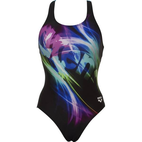 Bademode - ARENA Damen Schwimmanzug COLOUR SHADINGS SWIM PRO BACK ONE › Schwarz  - Onlineshop Intersport