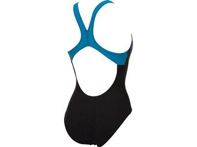 ARENA Damen Schwimmanzug COLOUR SHADINGS SWIM PRO BACK ONE Schwarz