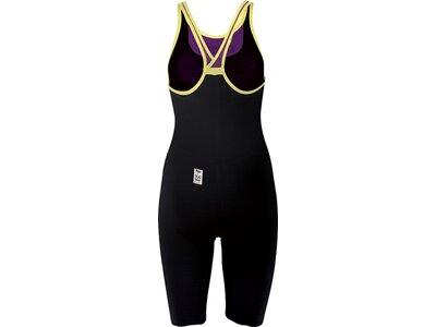 arena Damen Wettkampfanzug Powerskin Carbon Air geschlossener Rücken Gelb